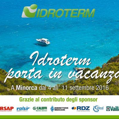 Preparati a partire … In vacanza con Idroterm!