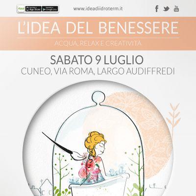 L'idea Del Benessere… vetrina a Cielo Aperto nel cuore di Cuneo