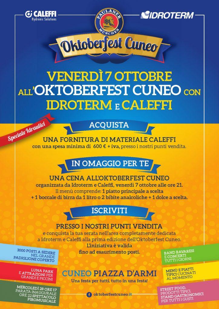 Idroterm ti regala l'Oktoberfest!