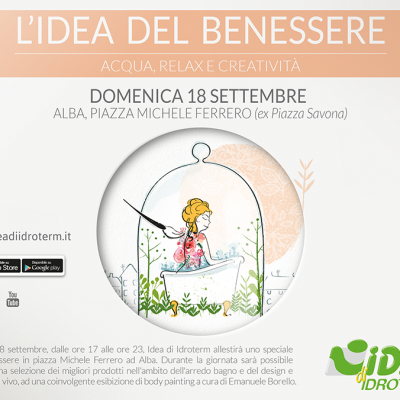 """Ad Alba… appuntamento con """"L'Idea di benessere""""!"""