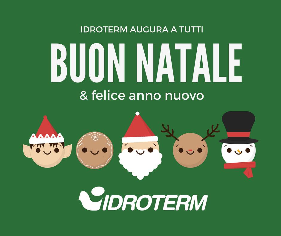 Buon Natale e Felice Anno Nuovo da Idroterm!