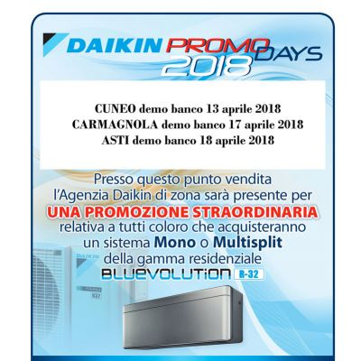 DAIKIN PROMO DAYS 2018