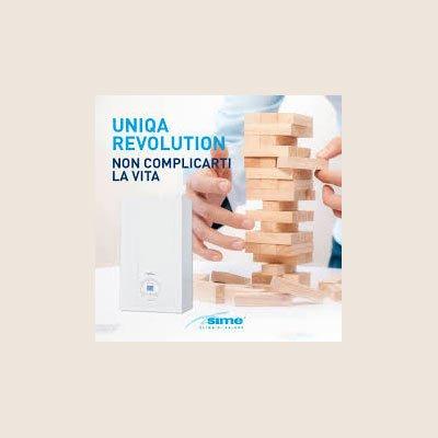 UNIQA REVOLUTION: la caldaia rivoluzionaria della SIME