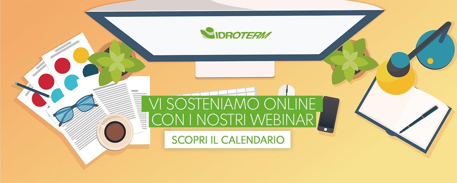 Idroterm presenta corsi online per i clienti installatori